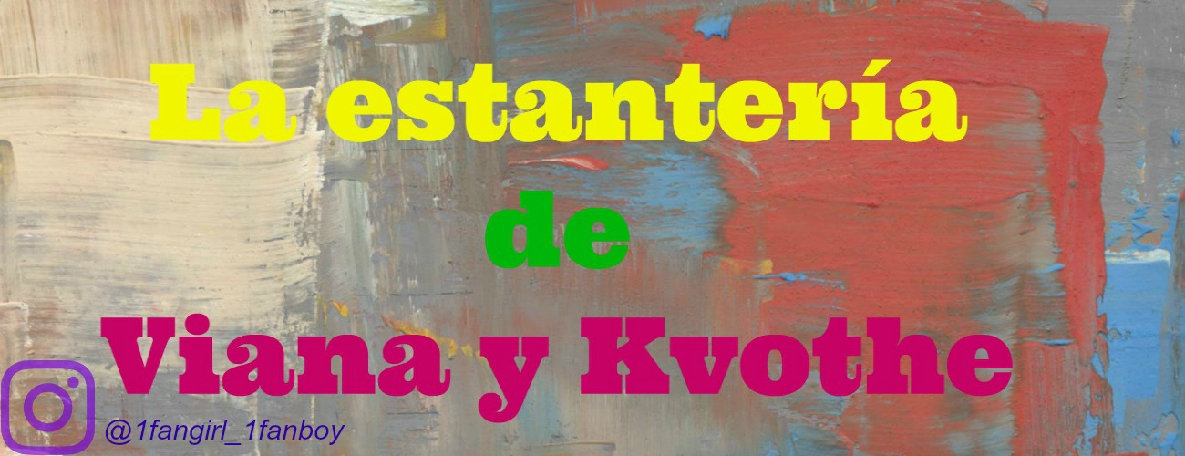 La estantería de Viana y Kvothe