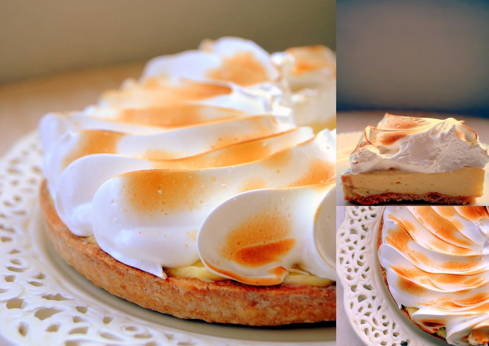 ... Cake: Tarta de Crema de Lima con Merengue (Key Lime Meringue Tart