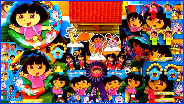 Dora The Explorer Birthday Party Ideas