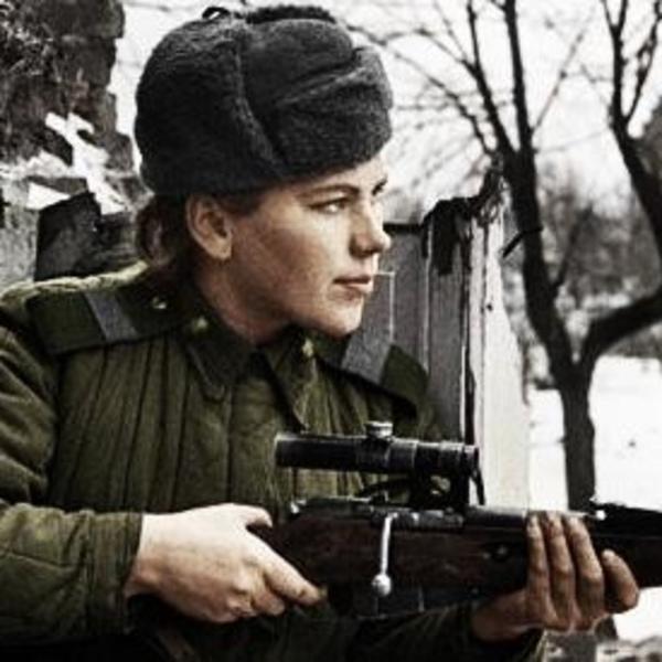 Snipers Roza_Shanina_rifle