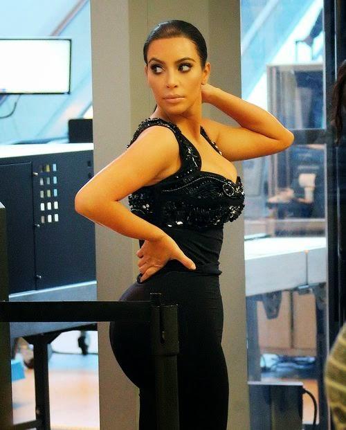 Kim Kardashian Sexy Security check