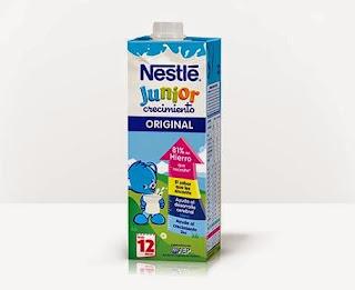Prueba Nestlé Junior Crecimiento
