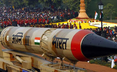 Agni-missile-India
