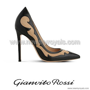 Crown Princess Mary Style Gianvito Rossi Bonnie pump - Fall Winter 2014-2015 -