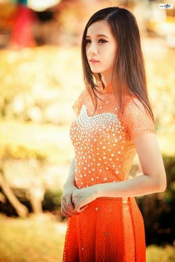 Ảnh gái đẹp diệu dàng trong tà áo dài 30