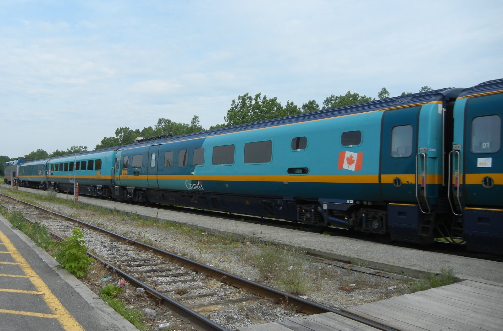 Via Rail Renaissance Passenger Cars Train Profiles