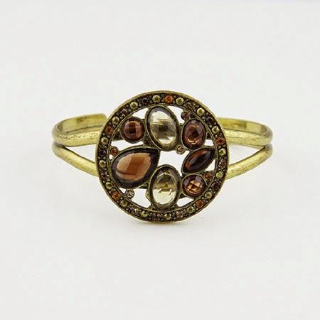 Fashion Female Court Restoring Ancient Diamond Bracelet