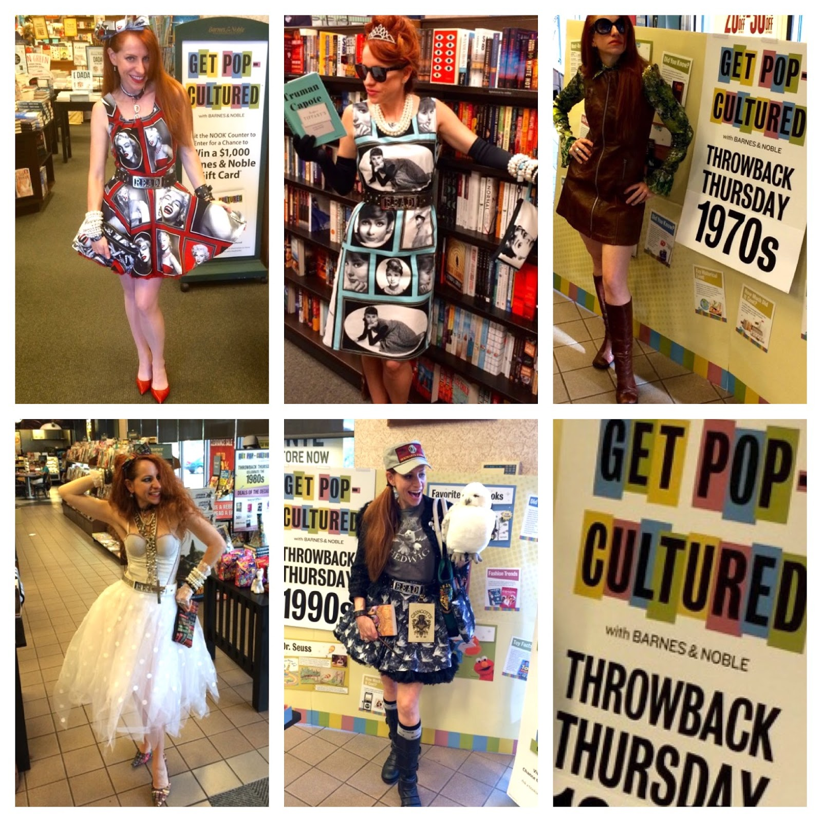 StandUpLibrarian Get Pop Cultured month at Barnes Noble