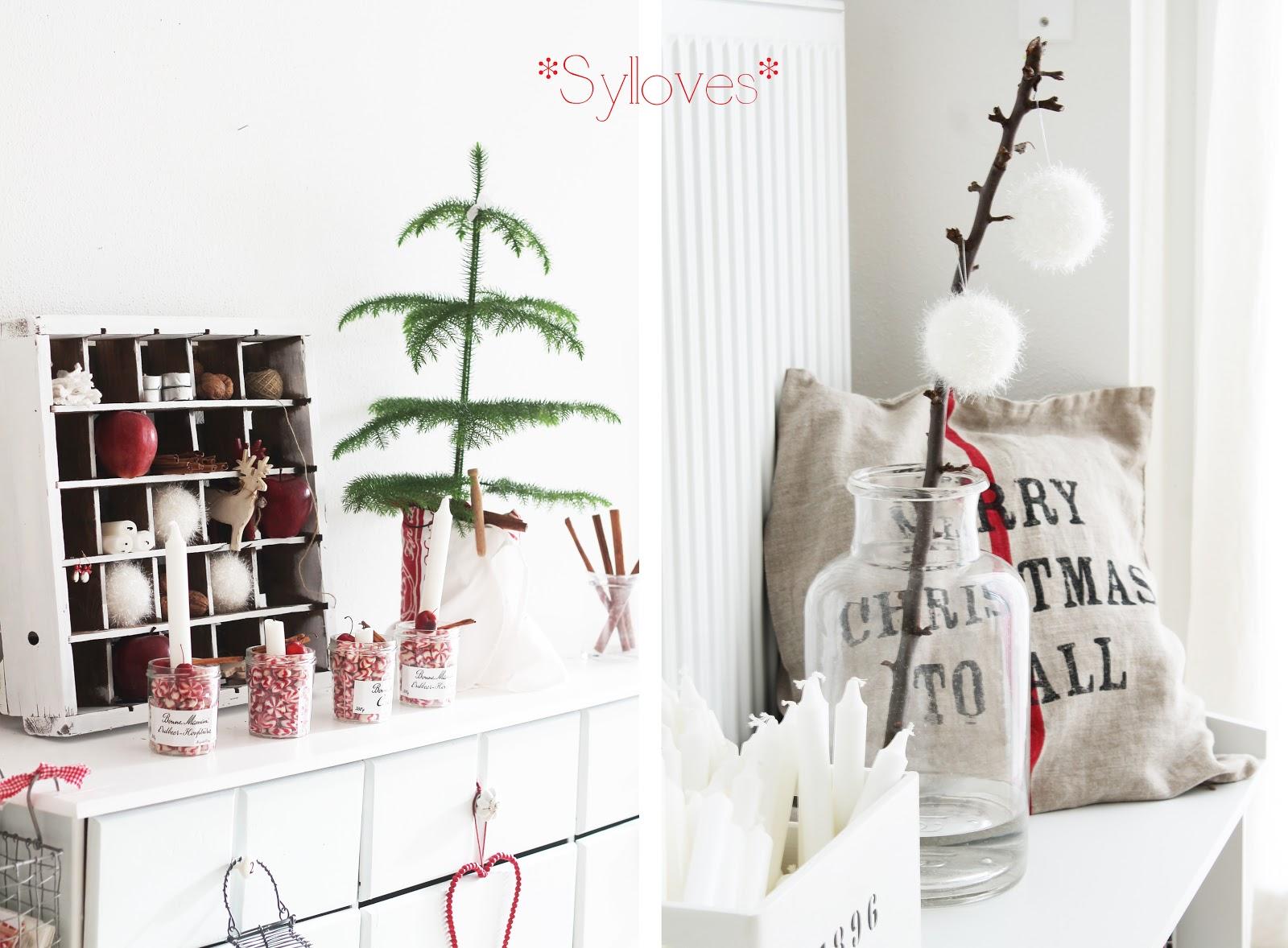 Merry christmas syl loves for Zimmer deko weihnachten
