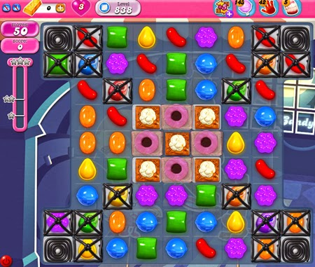 Candy Crush Saga 838