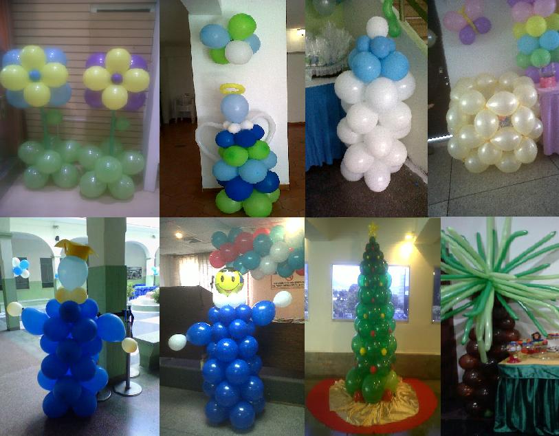 Decoracion con globos para sus fiestas decoraciones for Decoracion con globos precios