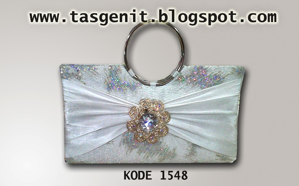 tas pesta putih, clutch bag cantik, dompet pesta odel terbaru 2014
