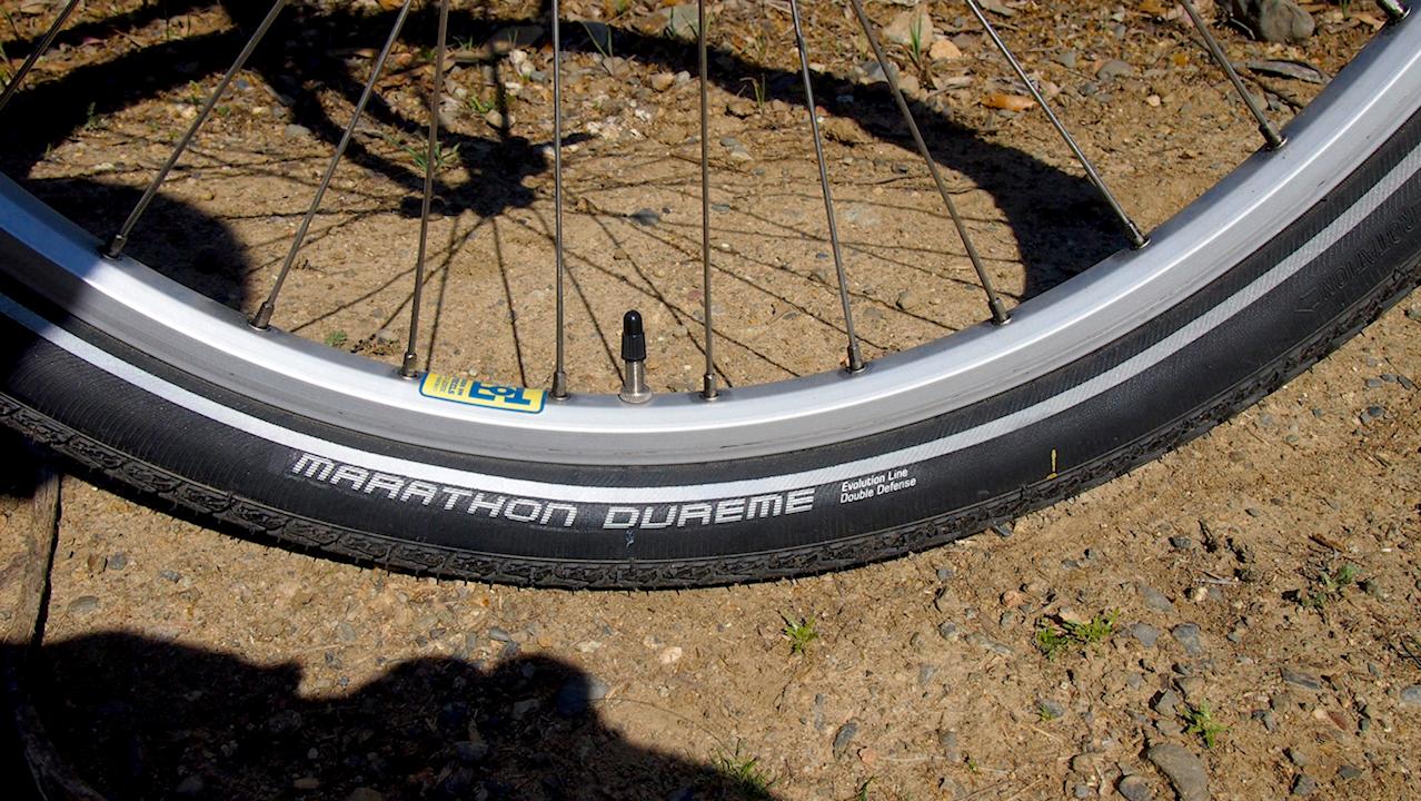VeloZen: Review: Schwalbe Marathon Dureme Tires!