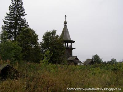 Георгиевская часовня в заонежской деревне Усть-Яндома