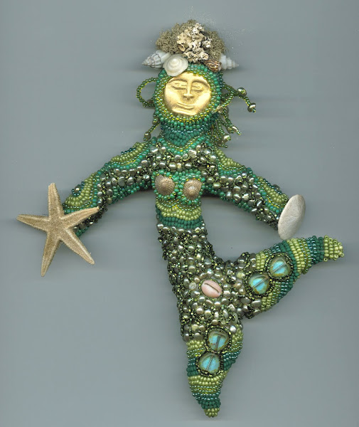Woman of the Sea doll, front