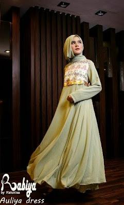 Contoh model baju gamis terbaru 2015 Baju gamis versi 2015