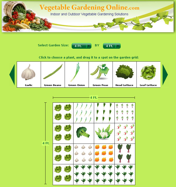 Domestinista vegetable garden planner review for Vegetable garden planner