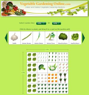 domestinista vegetable garden planner review. Black Bedroom Furniture Sets. Home Design Ideas