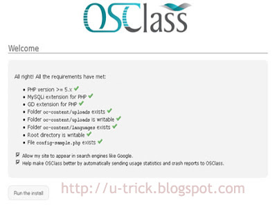 Panduan membuat website dengan CMS OSClass