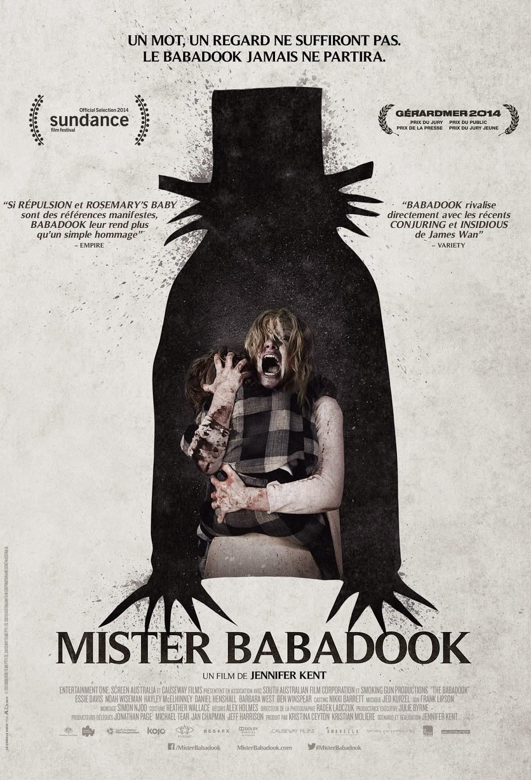 Posterul filmului Babadook