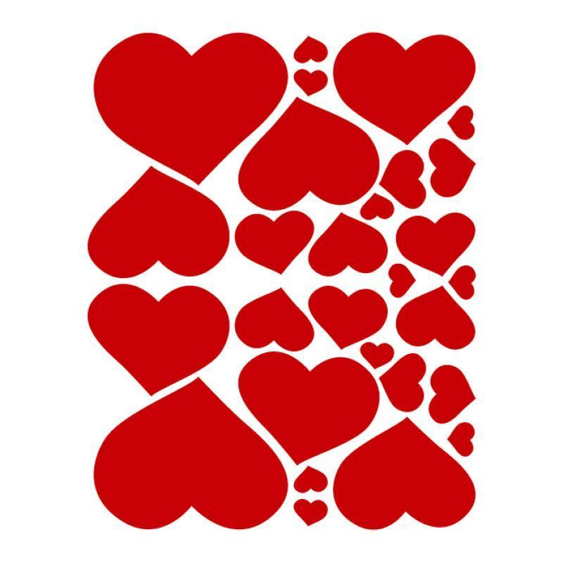 F licie 39 s family d cembre 2011 - Modele de coeur a decouper ...