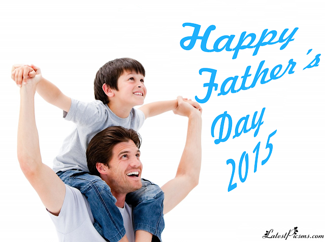 happy fathers day 2015 playing with son hd wallpaper