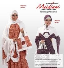 Mukena Cantik Meidiani dari Distro Jilbab Meidiani