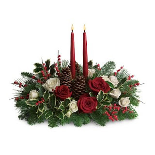 Send Your Christmas Wishes with Flowers