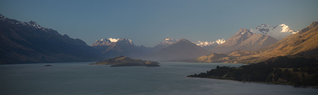 Lake Wakatipu looking towards Glenorchy