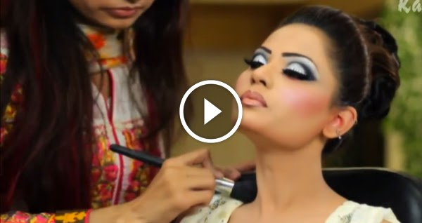 Mehndi Eye Makeup Dailymotion : Kashees makeup step by pictures and video