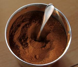 storing coffee powder