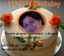 Sorteio no  blog