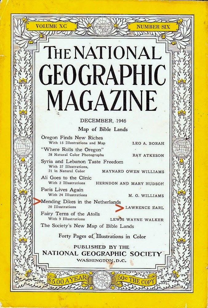 Lawrence Earl, National Geographic Magazine, December 1946