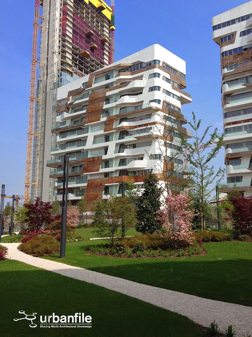 Urbanfile milano zona tre torri visita di alcuni for Appartamenti arredati milano