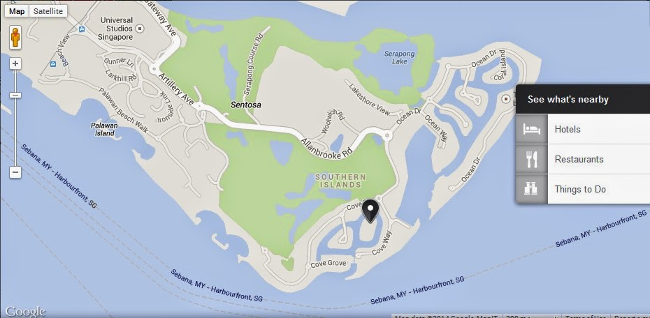 st johns island singapore location maplocation map of st johns island singaporest