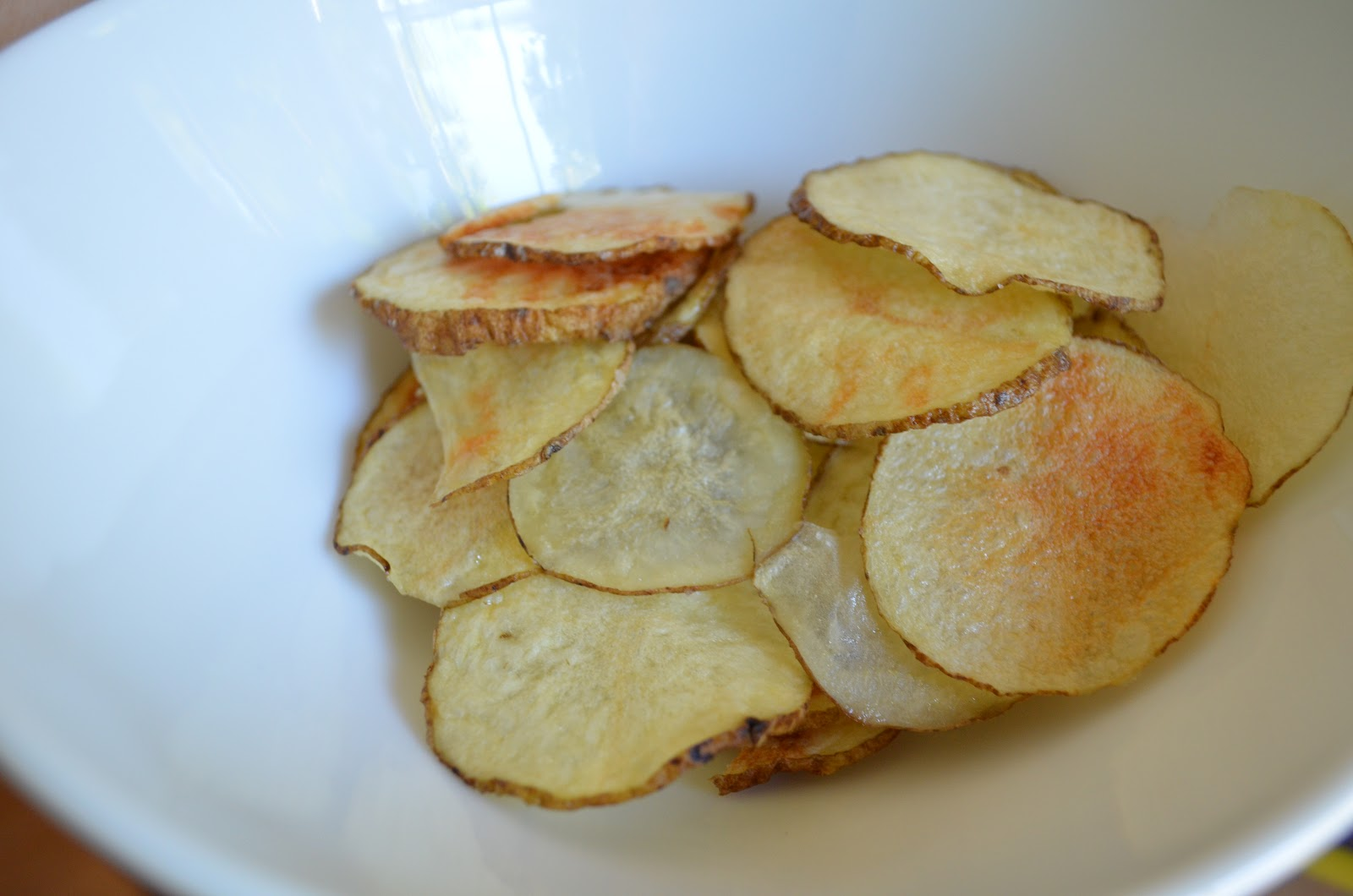how potato chips are made A video shows how stack-able pringles potato chips are made step-by-step in the factory the chips start their life being flattened on one of many conveyor belts then are cut, pressed and molded.