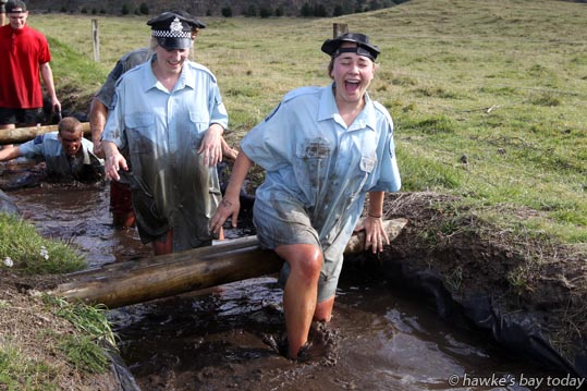 Mud and Guts Challenge Event, Mountain Valley Adventure Lodge, near the Mohaka River, off SH5, Napier-Taupo Rd. photograph