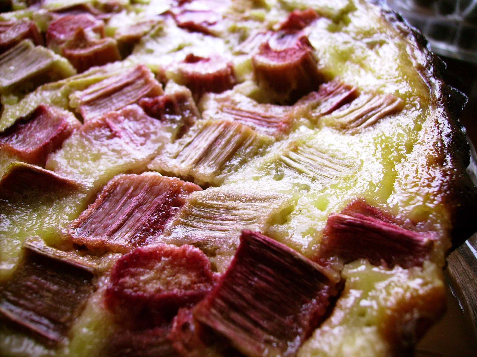 cuisine fran aise recette tarte a la rhubarbe. Black Bedroom Furniture Sets. Home Design Ideas