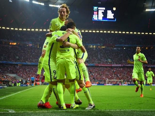 Barcelona perde para o Bayern, mas vai a Berlim
