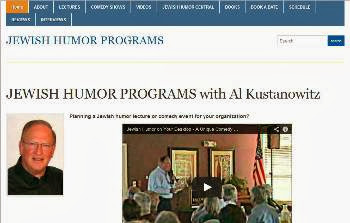 Now is the time to book our Jewish Humor Shows and Lectures for your synagogue, JCC, or club.