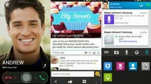 Download BBM for Android with Voice Call + Channel