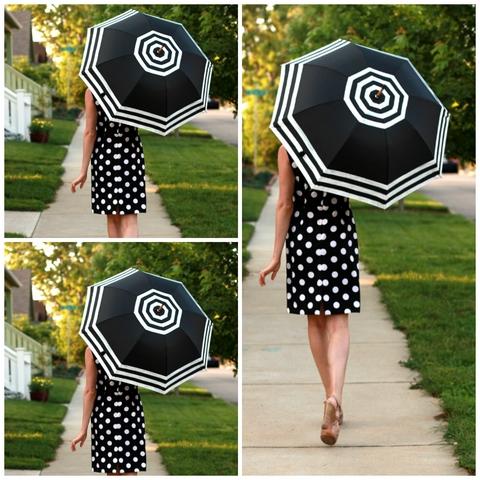 Guarda-chuva masculino ganha toque feminino com reciclagem