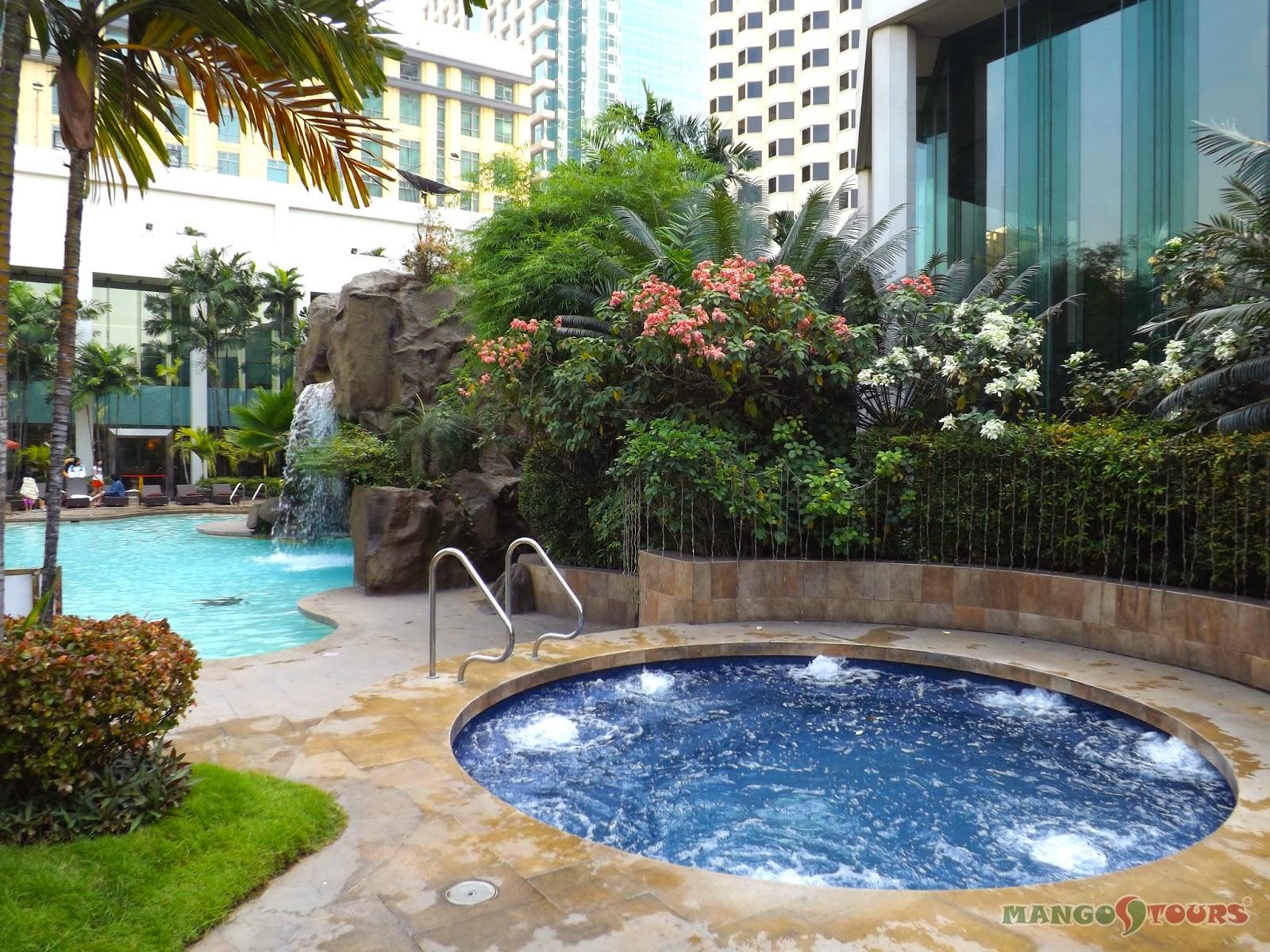 Mango Tours Diamond Hotel Philippines Swimming Pool