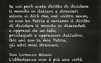 Indimenticabile Don Lorenzo Milani