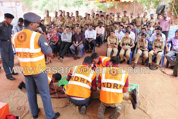 NDRF, Programme, New bus stand, Kasaragod, Kerala, Malayalam news, Kasargod Vartha, Kerala News, International News, National News, Gulf News, Health News, Educational News, Business News, Stock news, Gold News