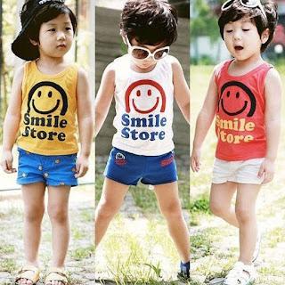 Model baju Anak Branded