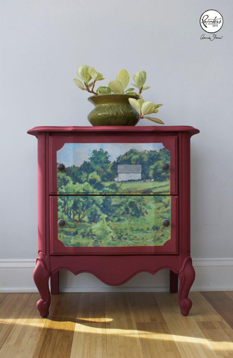 annie sloan paint colour karen donnelly 39 s chalk paint farmscape. Black Bedroom Furniture Sets. Home Design Ideas