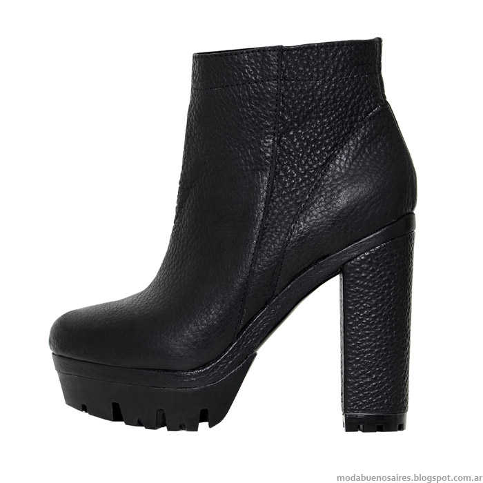 Botas otoño invierno 2015 L'Tau. Moda otoño invierno 2015 calzado femenino.