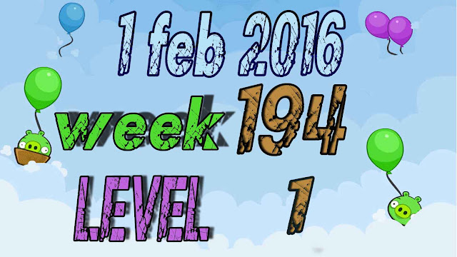 Angry Birds Friends Tournament level 1 Week 194