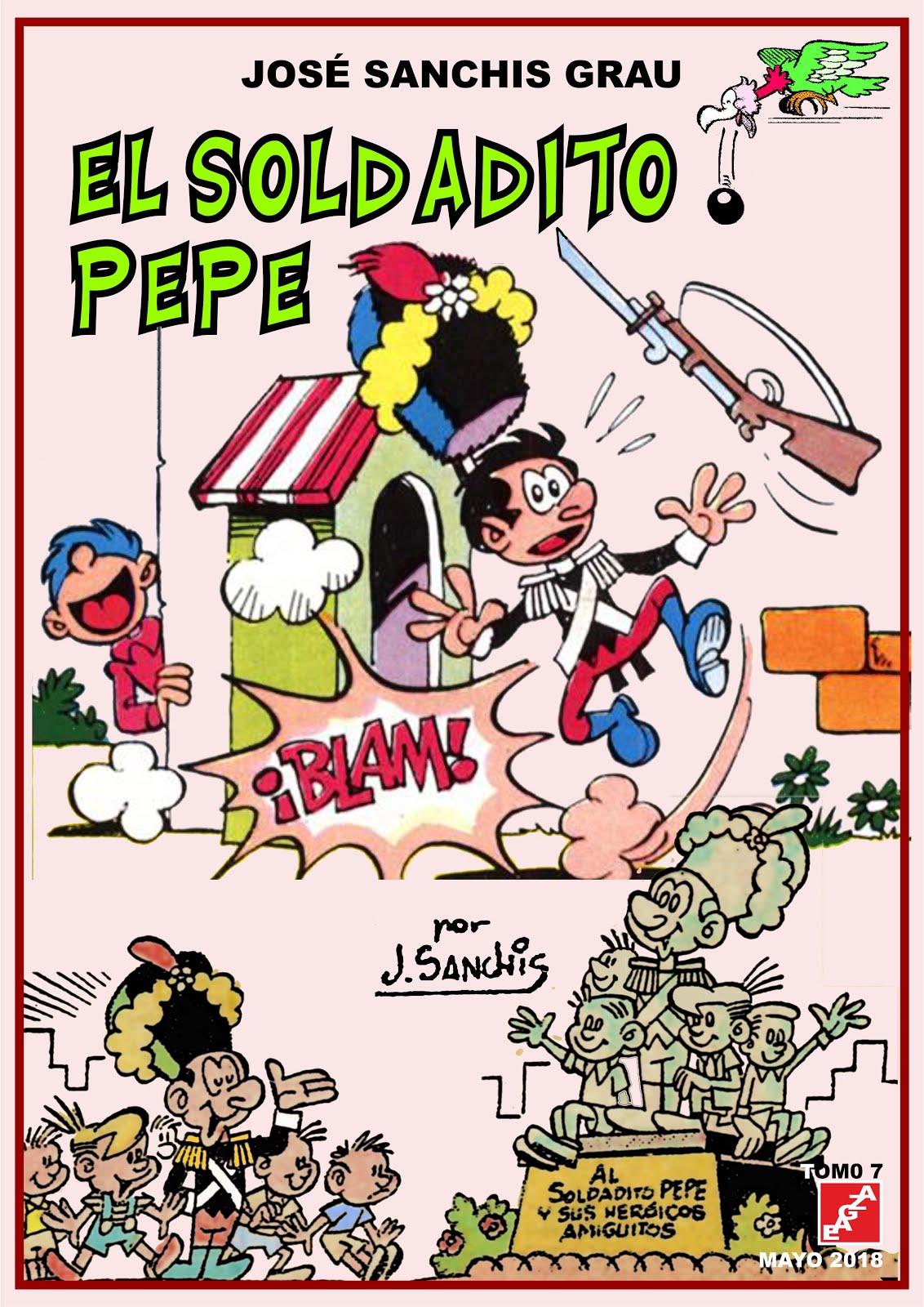 El soldadito Pepe - Tomos 01-07 - José Sanchis - EAGZA